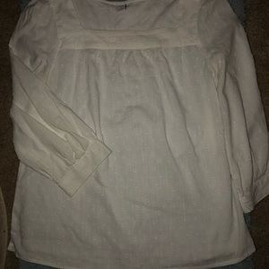 NWOT Old Navy Swiss Dot Square Neck Blouse